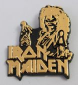 Iron Maiden - 'Killers' Plastic Badge